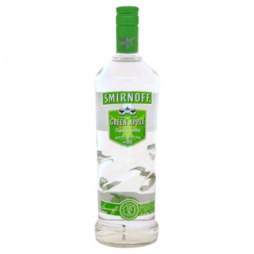 Smirnoff Green Apple Triple Distilied Vodka 180ml